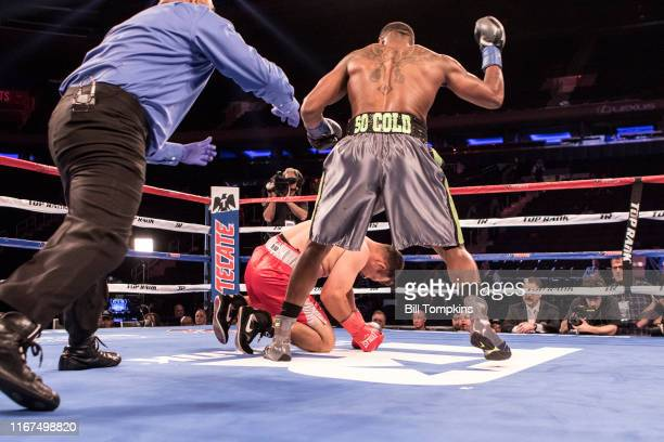 Bill Tompkins/Getty Images Steven Nelson defeats Gilberto Rubio by TKO in the 2nd round during their Light Heavyweight fight at Madison Square Garden...