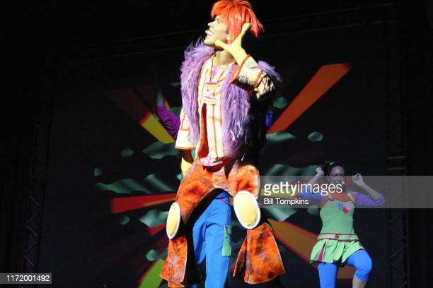 """Bill Tompkins/Getty Images The Disney Channel's THE DOODLEBOPS perform at Madison Square Garden in New York City.""""nOctober 6, 2007 in New York City."""