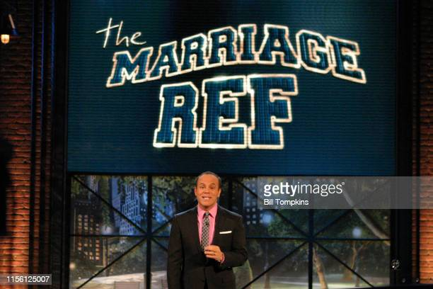 MANDATORY CREDIT Bill Tompkins/Getty Images Tom Papa appears on the season premiere of THE MARRIAGE REFnProduced by Jerry Seinfeld on May 1 2008 in...