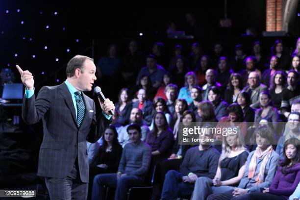 MANDATORY CREDIT Bill Tompkins/Getty Images Tom Papa appears on the Season Premiere of THE MARRIAGE REF Produced by Jerry Seinfeld for NBC on May 1...