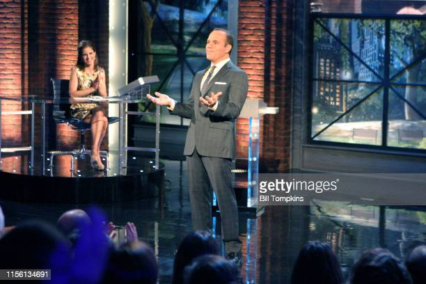 MANDATORY CREDIT Bill Tompkins/Getty Images Tom Pappa and Nathalie Morales appear on the season premiere of THE MARRIAGE REFnProduced by Jerry...