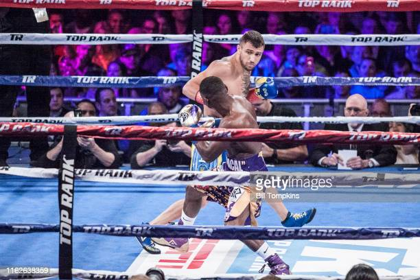 Bill Tompkins/Getty Images Vasyl Lomachenko defeats Guillermo Rigondeaux by RTD in the 6th round. Madison Square Garden on December 9, 2017 in New...