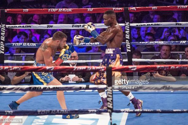 Bill Tompkins/Getty Images Vasyl Lomachenko defeats Guillermo Rigondeaux by RTD in the 6th round Madison Square Garden on December 9 2017 in New York...