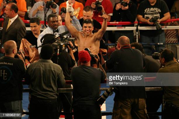 Bill Tompkins/Getty Images Victor Ortiz defeats Nate Campbell by Unanimous Decision during their Super Lightweight fight at Madison Square Garden on...