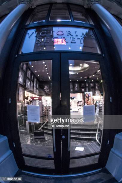 March 29: MANDATORY CREDIT Bill Tompkins/Getty Images Victoria's Secret closed due to the coronavirus COVID-19 pandemic on March 29, 2020 in New York...