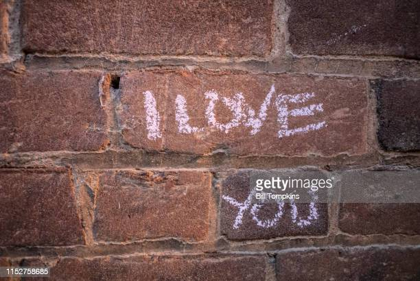 August 18, 2017: MANDATORY CREDIT Bill Tompkins/Getty Images Wall grafitti that reads ' I LOVE YOU' at the Heather Heyer memorial on August 18, 2017...