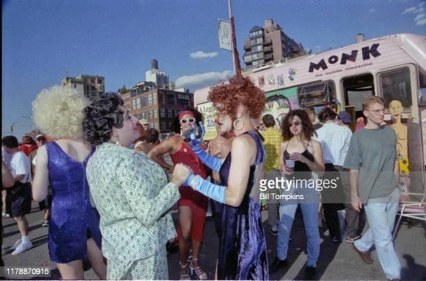 July 10: MANDATORY CREDIT Bill Tompkins/Getty Images WIGSTOCK. July 10 1995