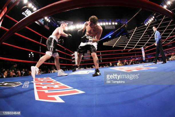 Janaury 23: MANDATORY CREDIT Bill Tompkins/Getty Images Will Rosinsky defeats Markus Gonzales by Unanimous Decision in their Light Heavyweight fight...