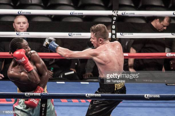 Bill Tompkins/Getty Images Yuri Foreman defeats Lenwood Dozier by Unanimous Decision in their Super Welterweight bout on December 5, 2015 in Brooklyn.