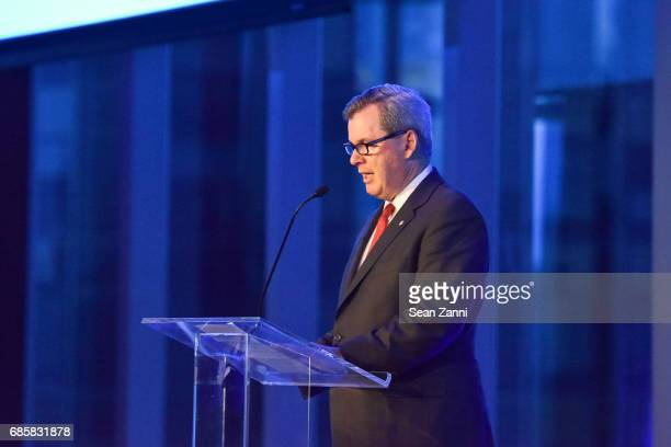 Bill Tyree speaks at The Boys' Club of New York Annual Awards Dinner at Mandarin Oriental Hotel on May 17 2017 in New York City