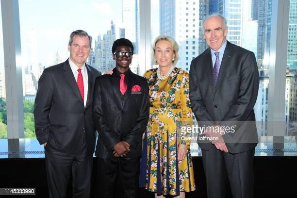 Bill Tyree Zeraun Daniel Elaine Langone and Dick Cashin attend BCNY Annual Awards Dinner at Mandarin Oriental on May 20 2019 in New York City