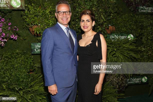Bill Ulfelder and Natalie Aristy attend The Nature Conservancy 2018 Gala Highlighting The Importance Of Conservation For People And Nature on June 21...