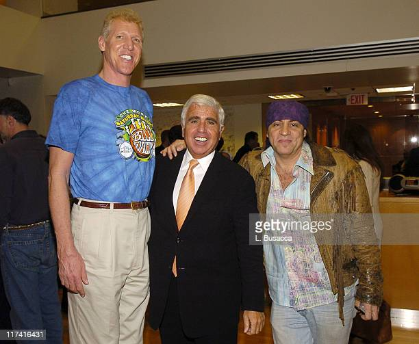 Bill Walton Mel Karmazin CEO of Sirius Satellite Radio and Steven Van Zandt