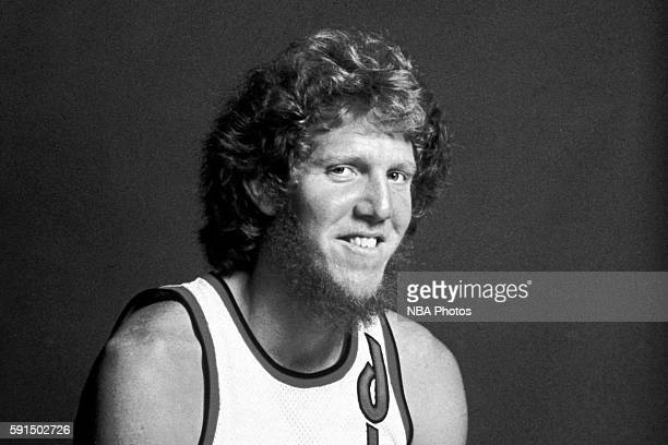 Bill Walton of the Portland Trail Blazers poses for a portrait at Memorial Coliseum in Portland Oregon circa 1977 NOTE TO USER User expressly...