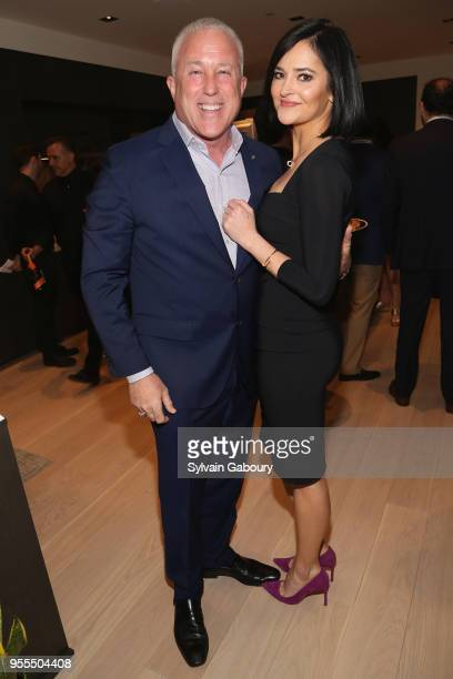 Bill White and Lis Smith attend Ambassador Grenell Goodbye Bash on May 6 2018 in New York City