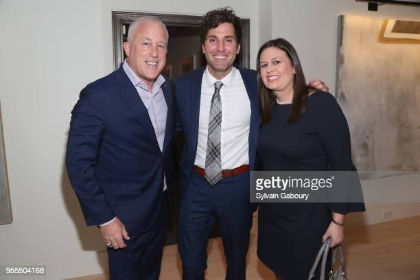 Bill White Bryan Sanders and Sarah Huckabee Sanders attend Ambassador Grenell Goodbye Bash on May 6 2018 in New York City