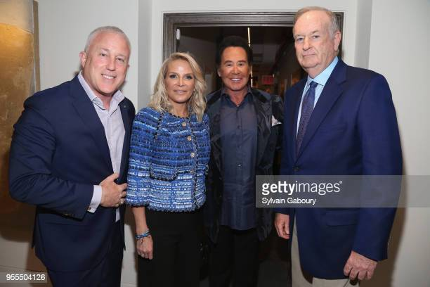 Bill White Kathleen Newton Wayne Newton and Bill O'Reilly attend Ambassador Grenell Goodbye Bash on May 6 2018 in New York City