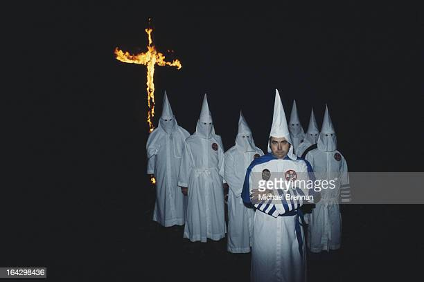 Bill Wilkinson founder and Imperial Wizard of the Invisible Empire Knights of the Ku Klux Klan in Baton Rouge Louisiana 1977