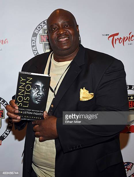 Bill Wingate son of the late boxer Sonny Liston arrives at the second annual Nevada Boxing Hall of Fame induction gala at the New Tropicana Las Vegas...