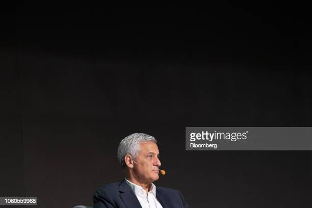 Bill Winters chief executive officer of Standard Chartered Plc attends a panel discussion at the Singapore FinTech Festival in Singapore on Monday...