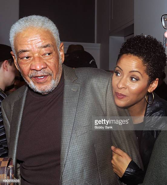 Bill Withers and his daughter Kori Withers attends Lean On Him A Tribute To Bill Withers at Carnegie Hall on October 1 2015 in New York City