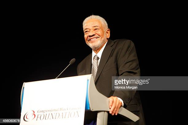 Bill Withers attends The Congressional Black Caucus Spouses Event at The Newseum on September 24 2014 in Washington DC