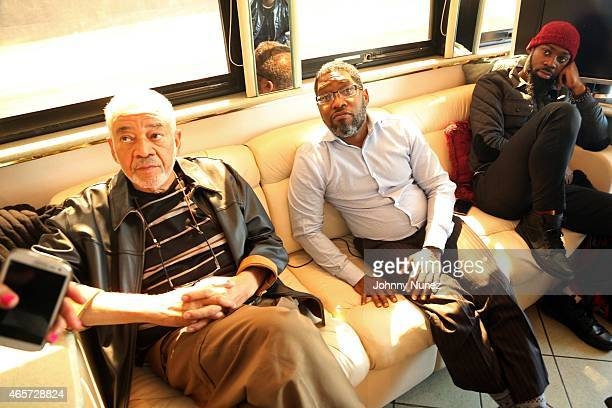 Bill Withers DaddyO and Mali Music attend the Centric Celebrates Selma event on March 8 2015 in Selma Alabama