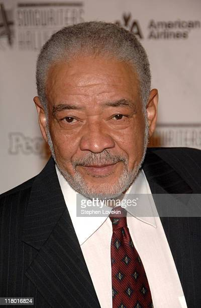 Bill Withers during 38th Annual Songwriters Hall of Fame Ceremony Arrivals at Marriott Marquis in New York City New York United States