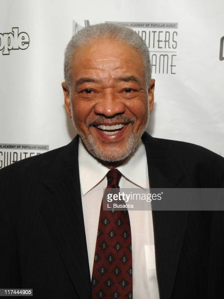 Bill Withers during 38th Annual Songwriters Hall of Fame Ceremony - Cocktails and Backstage at Marriott Marquis in New York City, New York, United...