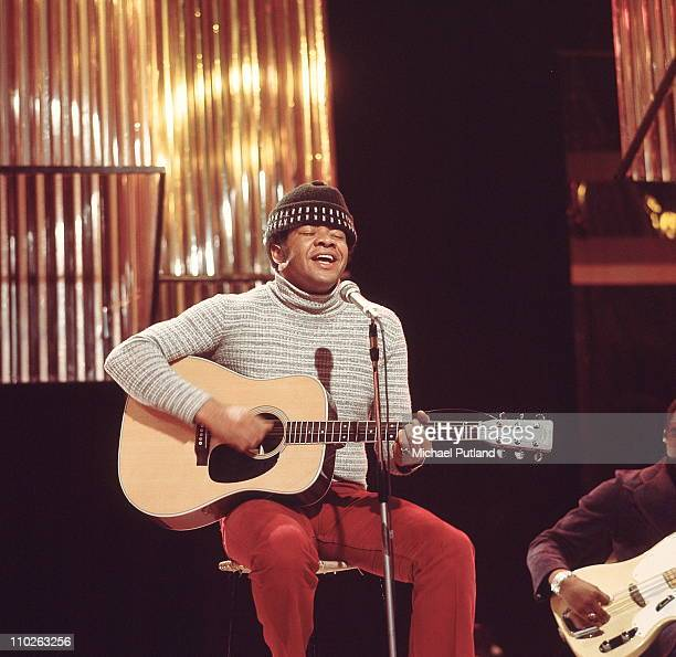 Bill Withers performs on UK TV show, London, 1972.