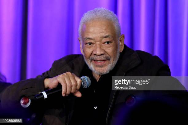 Bill Withers speaks onstage at Reel To Reel Chuck Berry Brown Eyed Handsome Man at the GRAMMY Museum on February 24 2020 in Los Angeles California