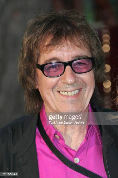 Bill Wyman, former bass player for The Rolling Stone, arrives at the 60th Monaco Red Cross Ball at the Monte-Carlo Sporting Club on August 1, 2008 in...