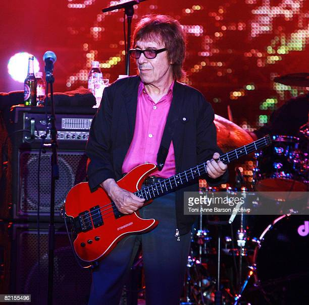 Bill Wyman, former bass player for The Rolling Stone, performs at the 60th Monaco Red Cross Ball at the Monte-Carlo Sporting Club on August 1, 2008...