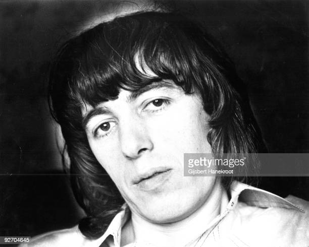 Bill Wyman from The Rolling Stones posed in Amsterdam in 1975