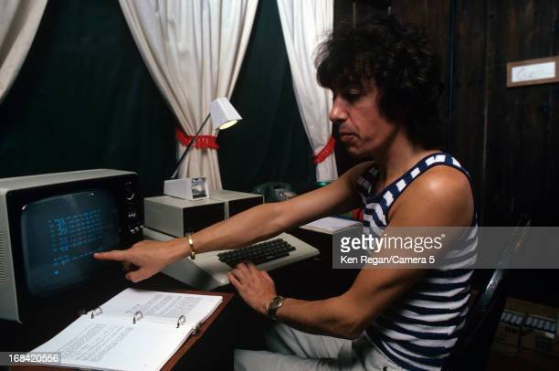 Bill Wyman of the Rolling Stone is photographed in the 1970's in New York City CREDIT MUST READ Ken Regan/Camera 5 via Contour by Getty Images