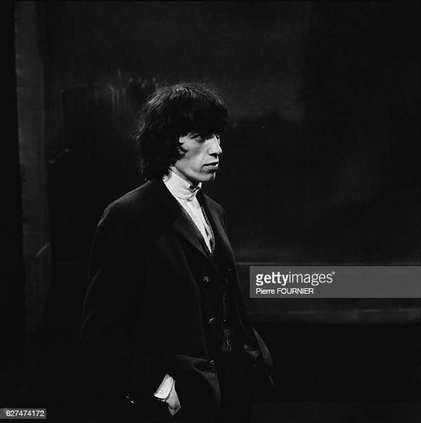 Bill Wyman of The Rolling Stones in Paris