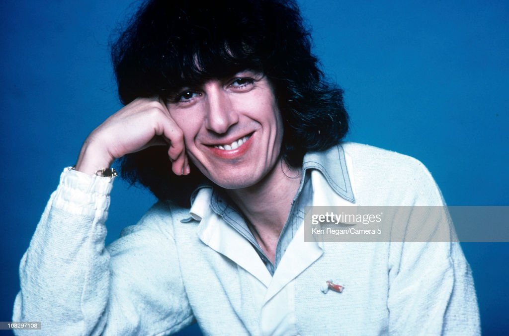 Bill Wyman of the Rolling Stones is photographed at the Camera 5 studios in 1977 in New York City.