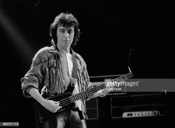 Bill Wyman performing at the 'A RMS Benefit' at The Cow Palace in Daly City California on December 3 1983