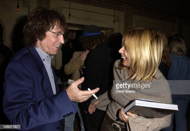 Bill Wyman & Rosanna Arquette during Bill Wyman Celebrates His Birthday At His Hollywood Book Launch Party at Bar Marmont in West Hollywood,...