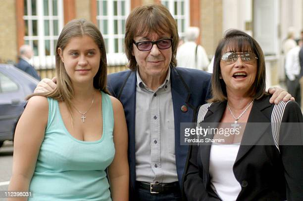 Bill Wyman with Christina Most and her daughter Cris Talle