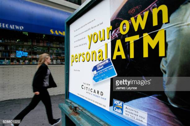 Billboard Advertisement for Bank Card