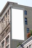 Billboard advertisement space in Manhattan New York