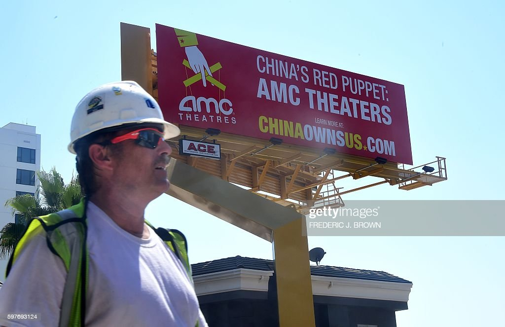 US-CHINA-BILLBOARD : News Photo
