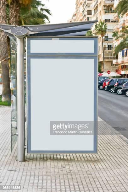 billboard bus station