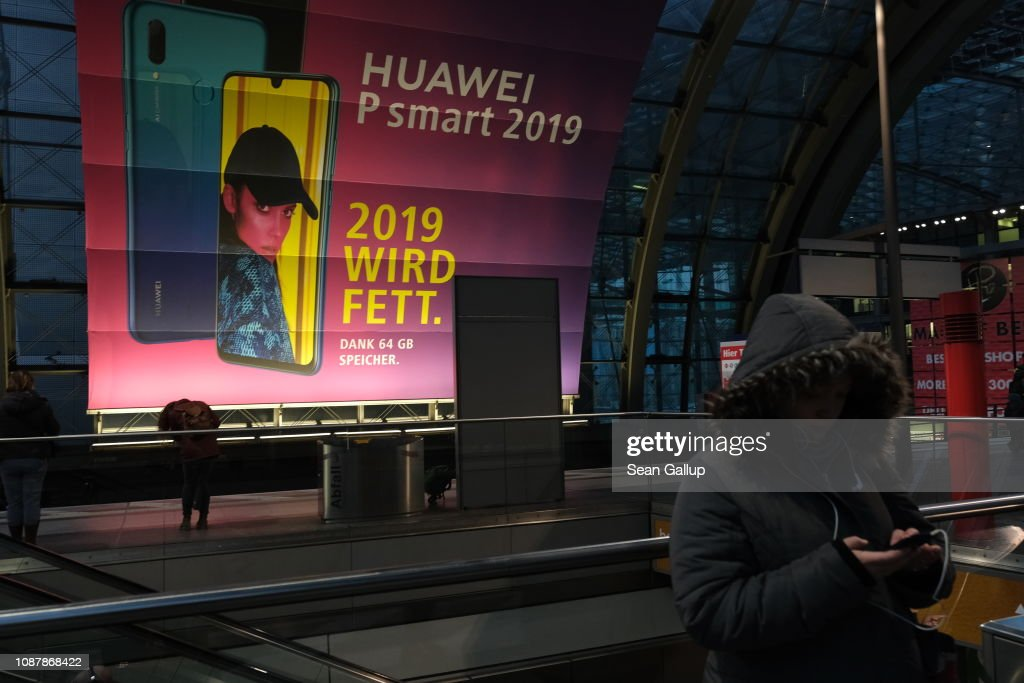 Germany Considering Ban On Huawei 5G Mobile Internet Contracts Over Security Fears : News Photo