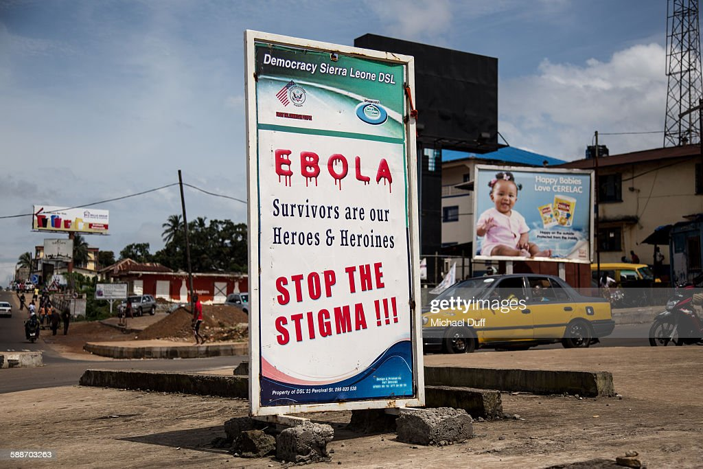 Ebola - Stop The Stigma! (WS) : News Photo