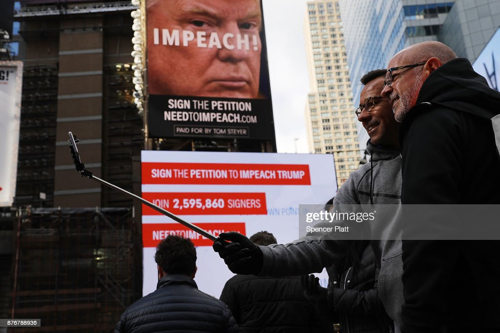 Trump Impeachment Movement Leader Tom Steyer Makes Announcement In NYC : News Photo