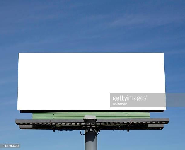 billboard - espaço vazio - fotografias e filmes do acervo