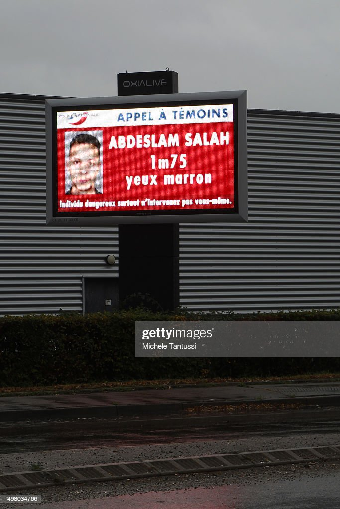 Police Search For Salah Abdeslam : ニュース写真