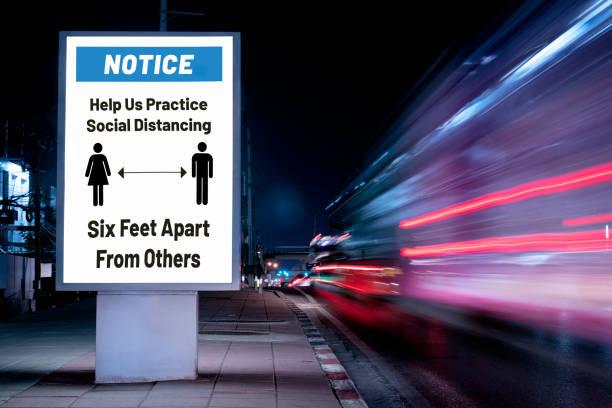 Billboard Social Distance